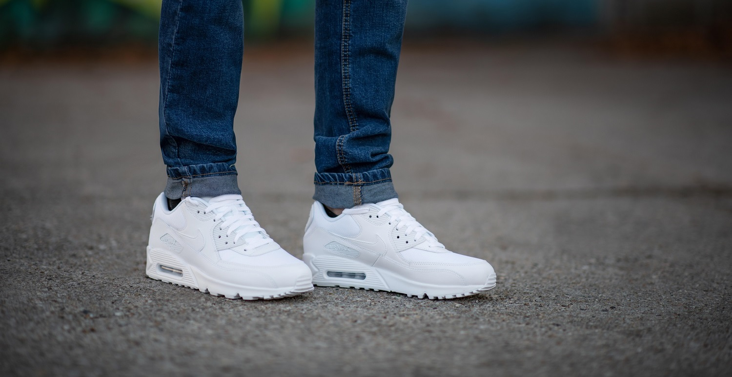 air max essential 90 nere pelle