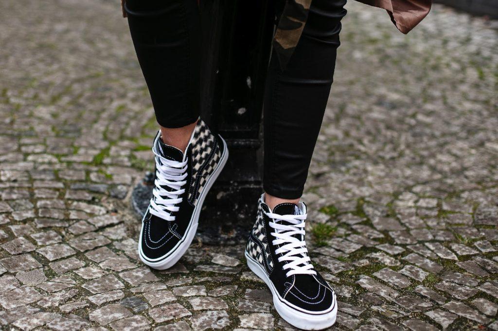 scarpe vans cotone